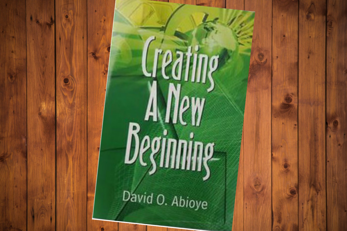 Creating A New Beginning book cover.