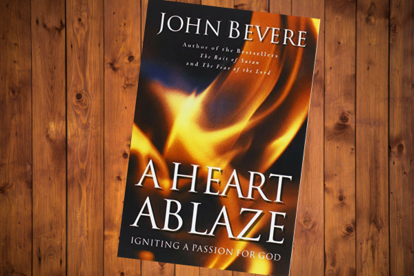 A Heart Ablaze book cover