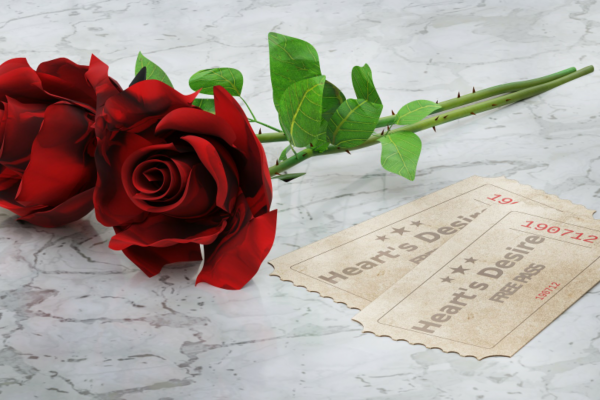 roses and love notes